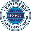 Botkyrka Offset certifieringen ISO 14001
